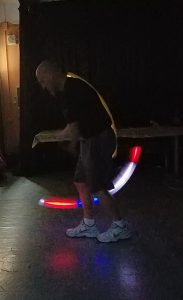 glow in the dark jump rope routine italy